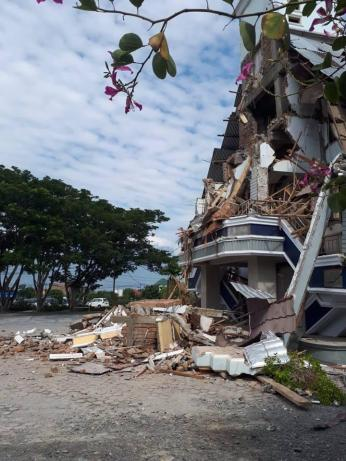 An earthquake and tsunami devastated Sulawesi